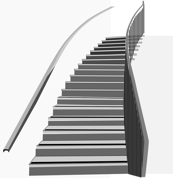Staircase, Ramp, Mount, House, Interior, Building