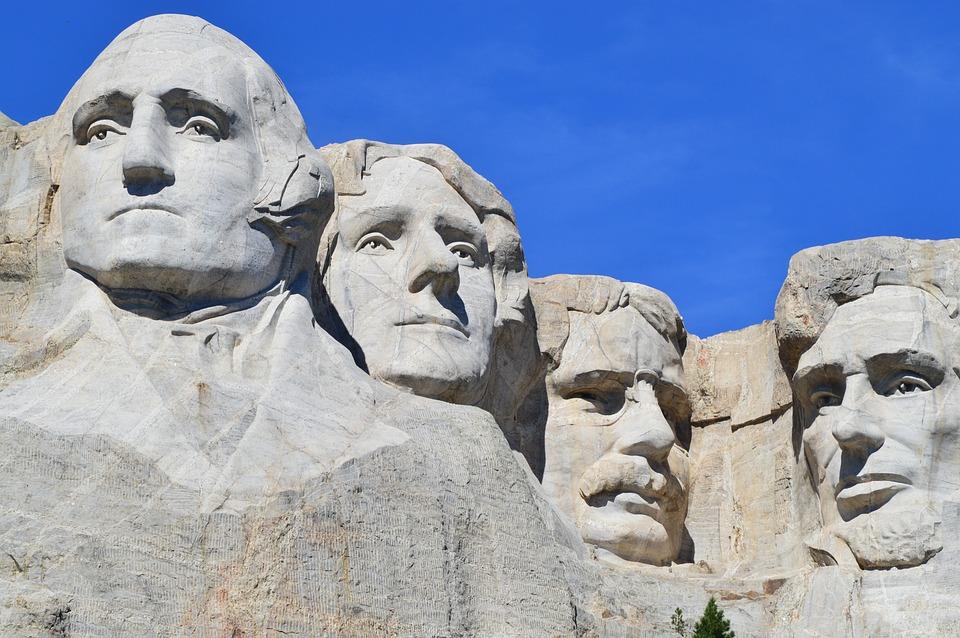 Mount Rushmore, Monument, Washington, Rushmore, Mount