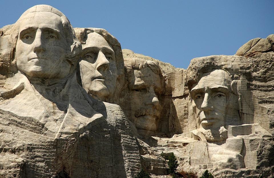 Mount Rushmore, Usa, Mountain, Monumental Building
