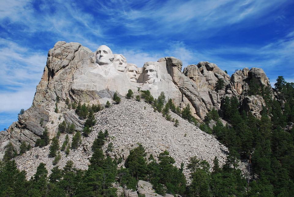 Mount Rushmore, Presidents Of The United States