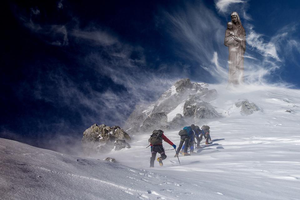Snow, Winter, Cold, Mountain, Ice, Adventure