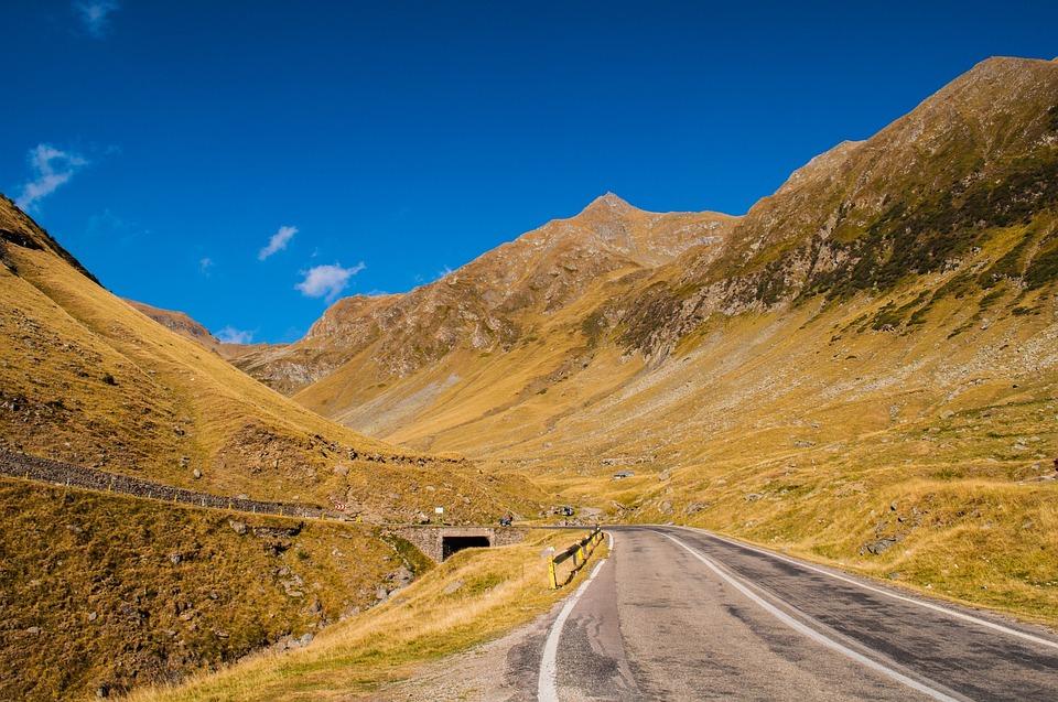 Mountain Pass, Road, Serpentine, Mountain, Alps