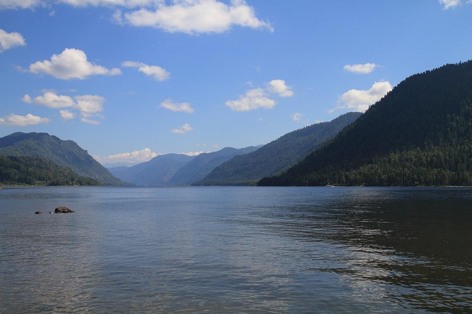 Lake Teletskoye, Altai, Siberia, Mountain Altai