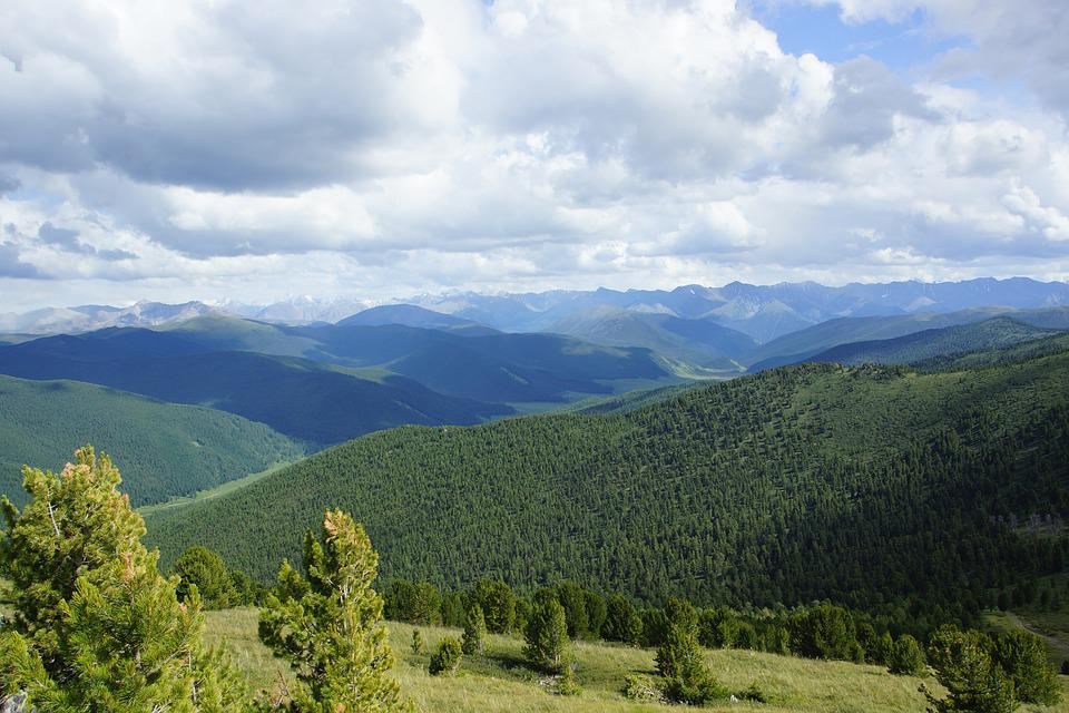 Nature, Mountain Altai, Clouds