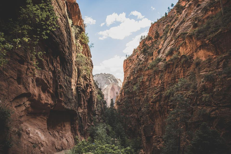 Cliff, Canyon, Gorge, Landscape, Mountain, Nature