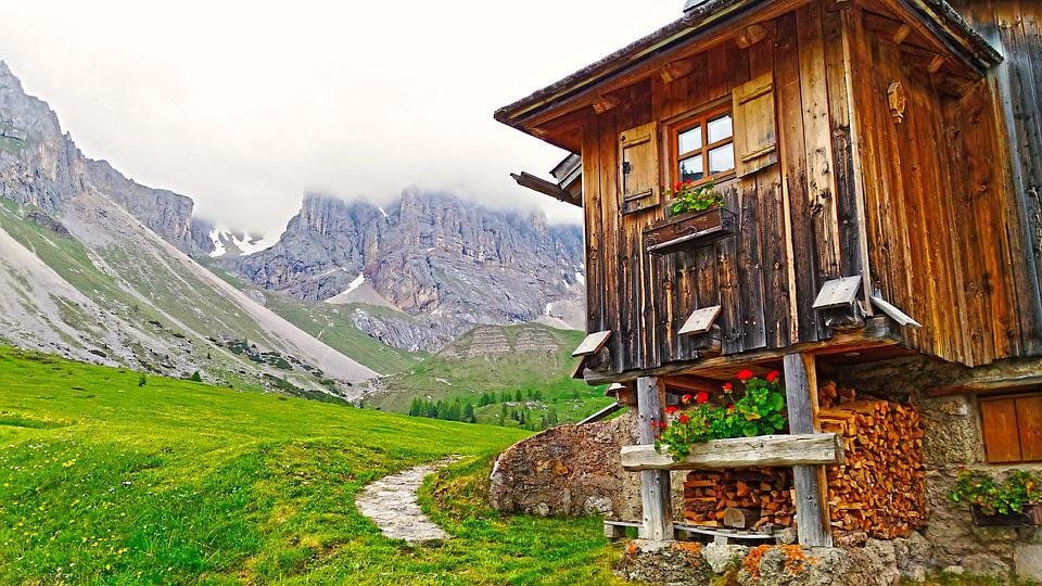 Mountain Lodge, Lodge, Refuge, Mountain Chalet