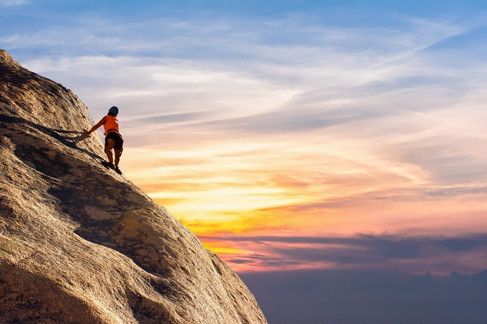 Mountain Climber, Sky, Landscape, Climber, Mountain