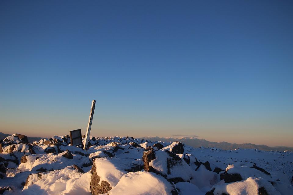 Snow Mountain, Mountain Climbing, Japan, Mountain