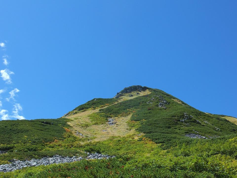 Tateyama, Early Autumn, Mountain Climbing
