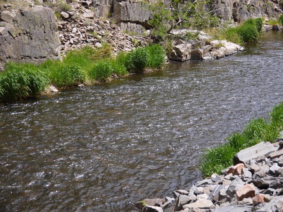 Colorado, River, Boulder Creek, Mountain, Nature