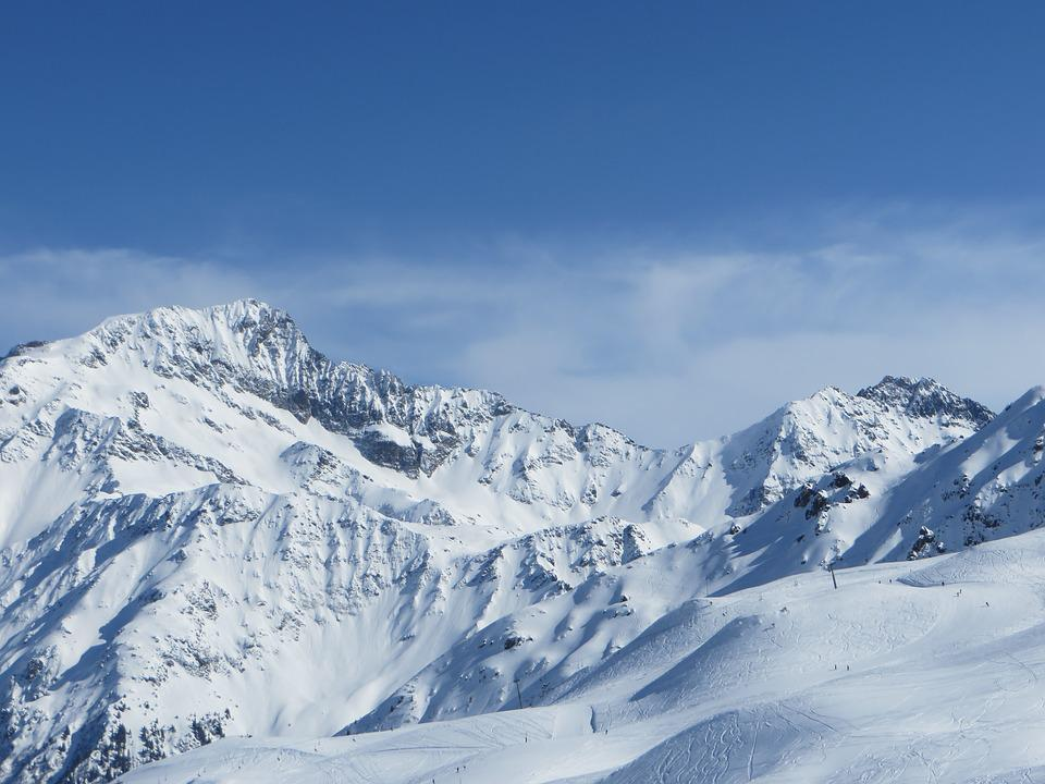 Contamines-montjoie, Mountain, Snow