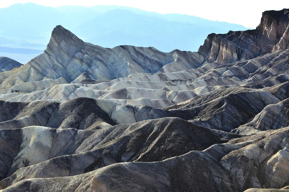 Death Valley, Mountain, Park National, Dry, Desert