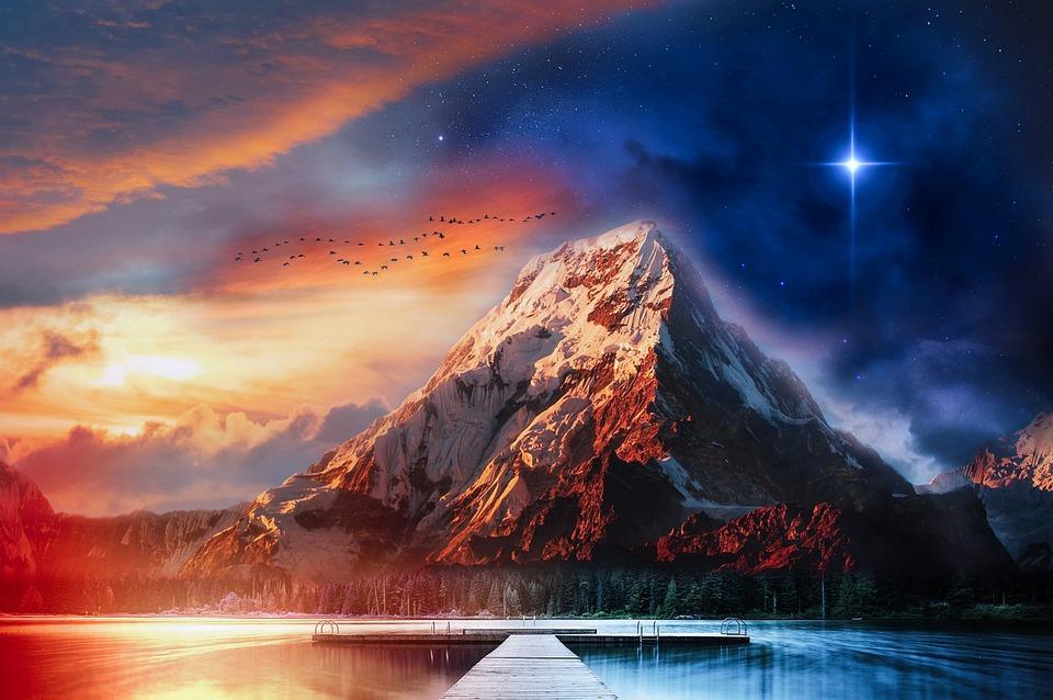 Fantasy, Environment, Mountain, Nature, Landscape
