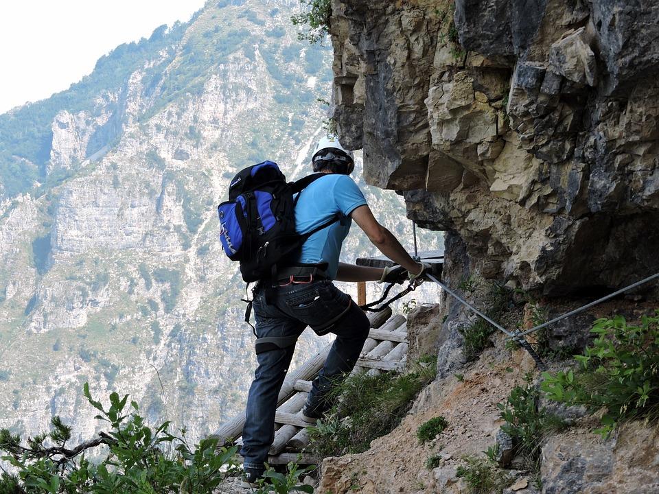 Climbing, Rock, Mountain, Climber, Excursion, Hiking