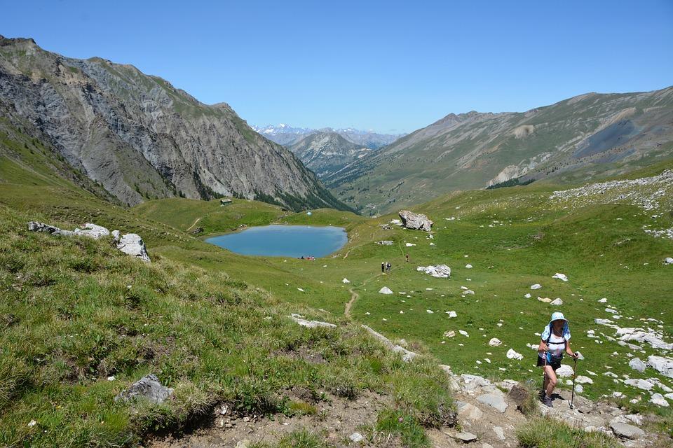 Mountain, Lake, Alpine, Summit, Hiking, France, Alps