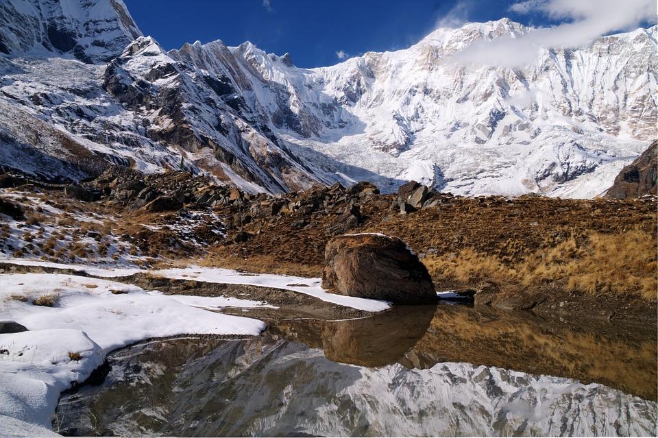 Annapurna Sanctuary, Himalaya, Mountain