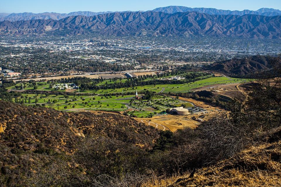 Griffith Park, Mountain, Holly, Hollywood
