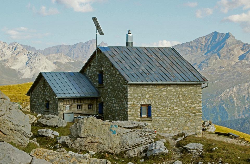 Mountain Hut, Graubünden, Mountain Hiking, Cufercal Hut