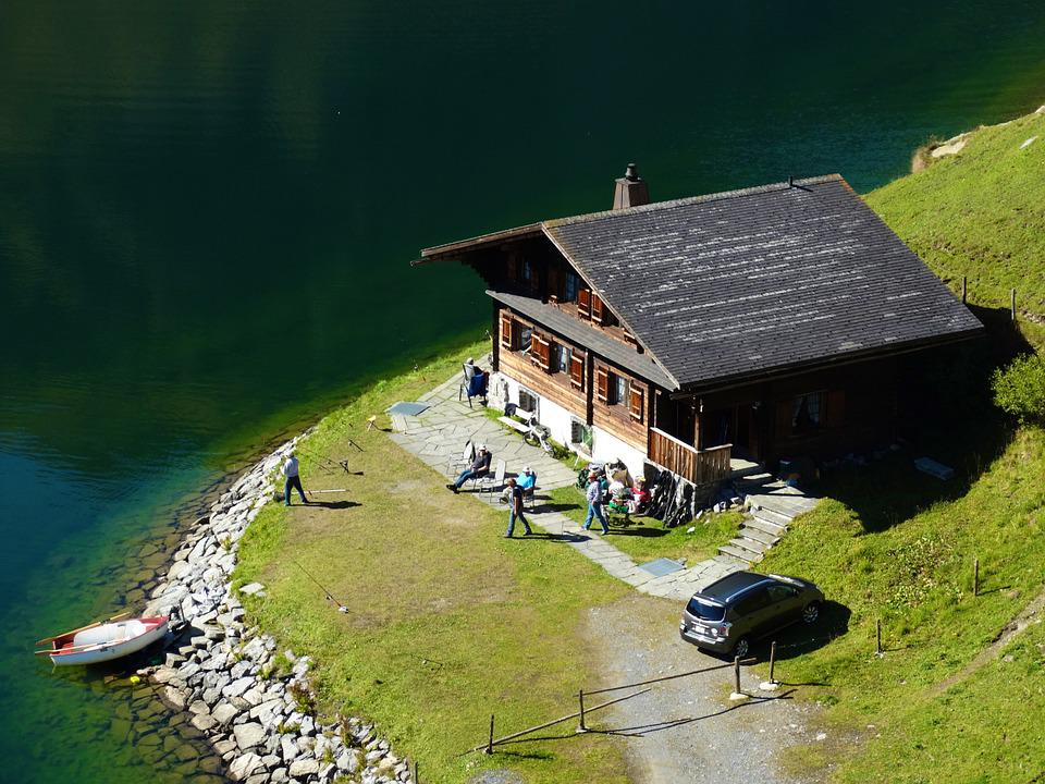 Mountain Hut, Vacation, Haus Am See, Mountain Summit