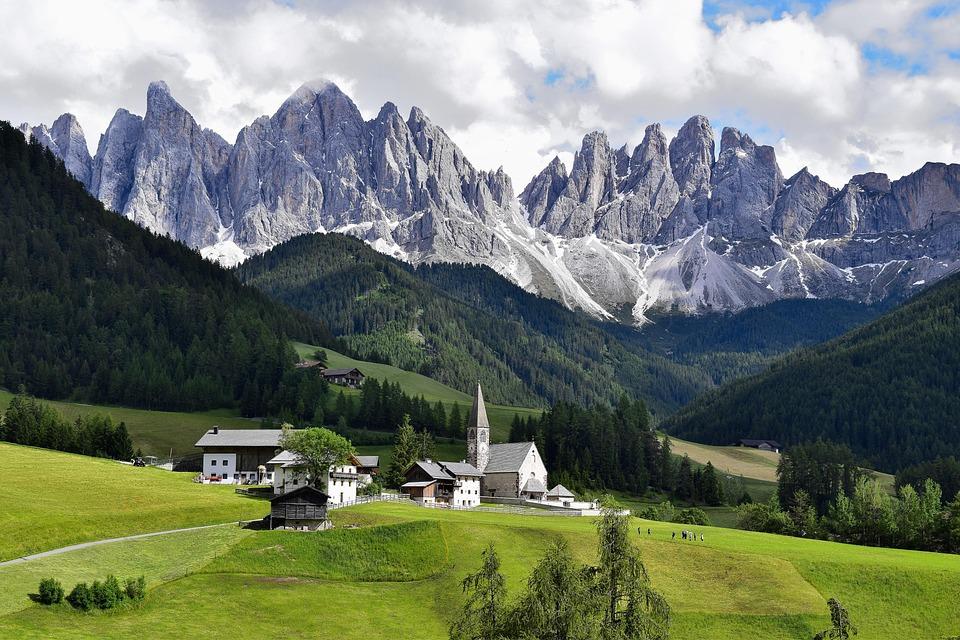 Dolomites, Dolomiti, Italy, Mountain, Alps, Nature