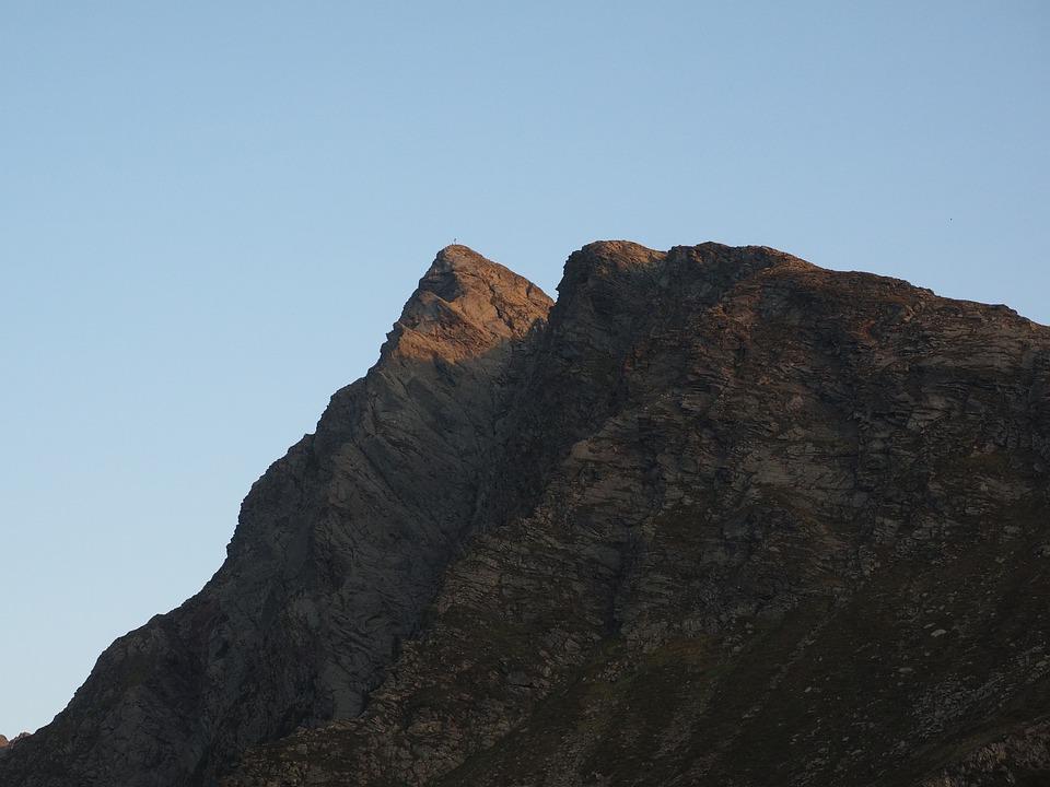 Jaufenspitze, Mountain, Summit Cross, Mountain Summit