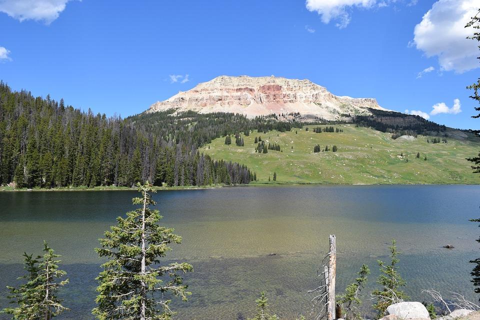 Mountain Lake, Lake, Pretty Lake