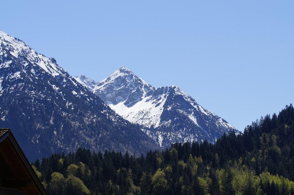 Mountain, Allgäu, Alpine, Landscape, Panorama