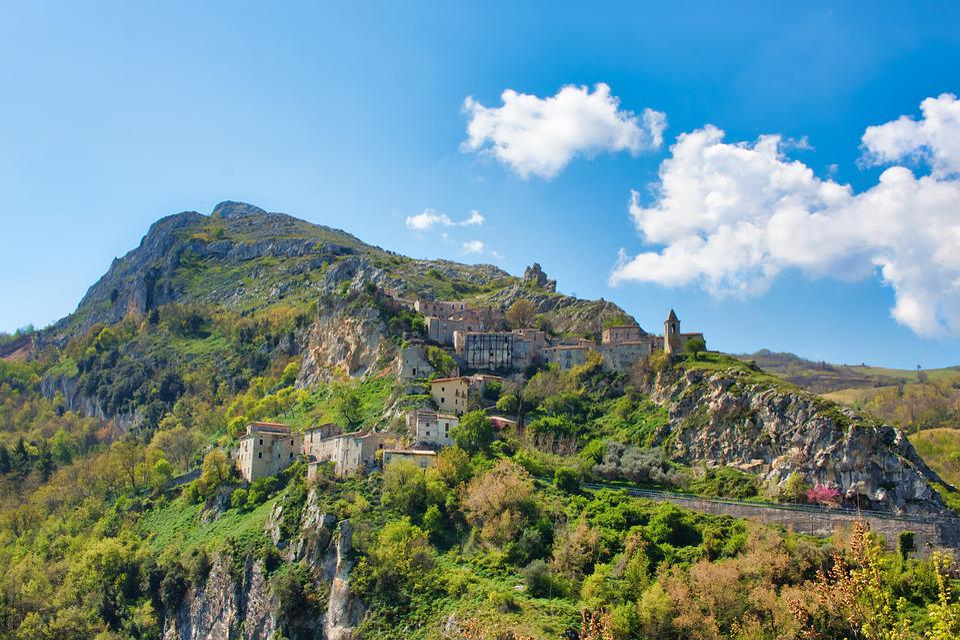 Mountain, Landscape, Italy, Mountains, Nature