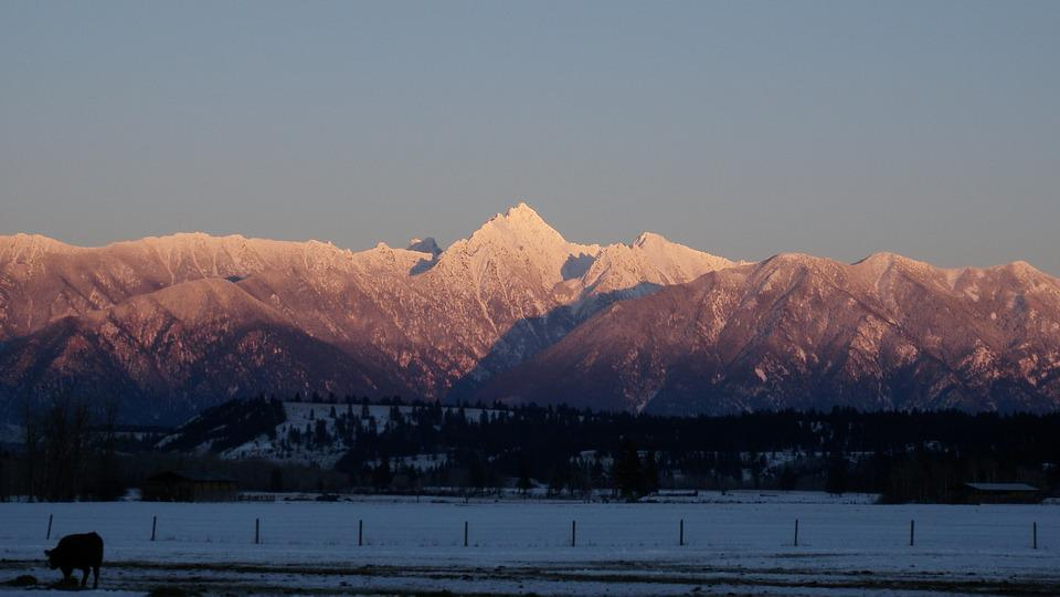 Mountains, Winter, Mountain Landscape
