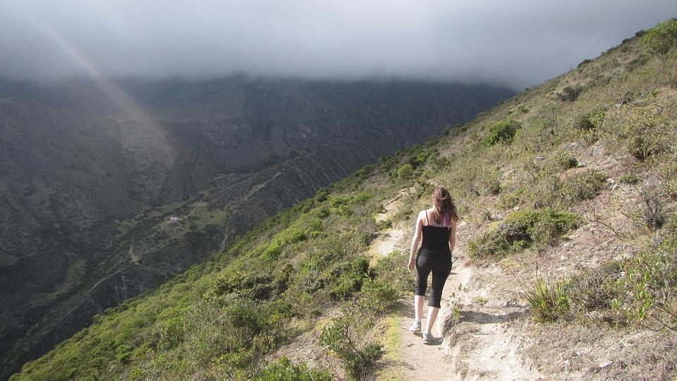 Walk, Mountain, Peace, Landscape, Nature, Mountains