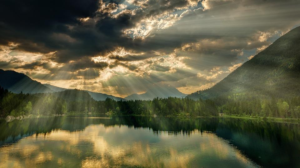 Panorama, Nature, Waters, Landscape, Mountain, Lake