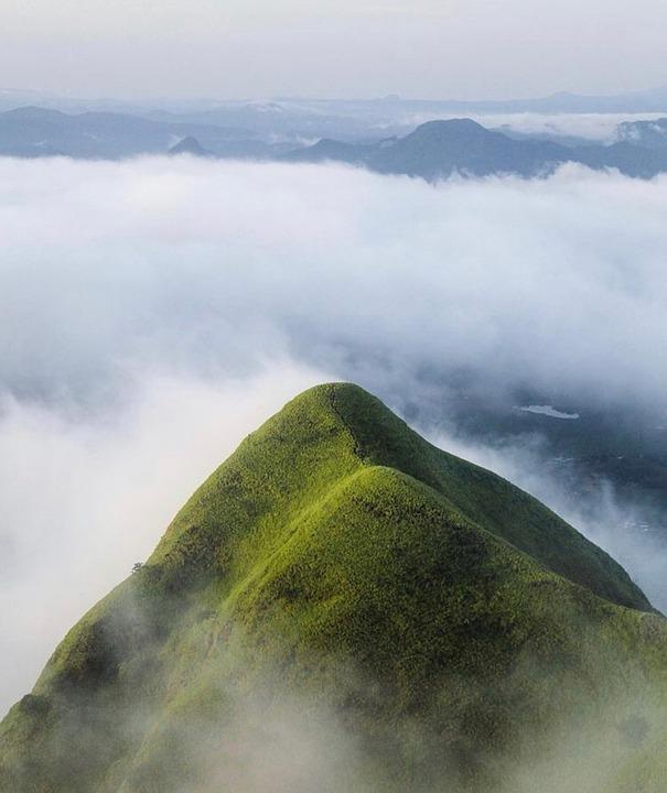 Clouds, Mountain, Dawn, Mountains, Landscape, Sky