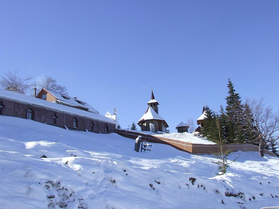 Mountain, Snow, Landscape