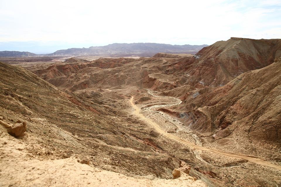 Landscape, Nature, Desert, Dry, Mountain, Rock, Tourism