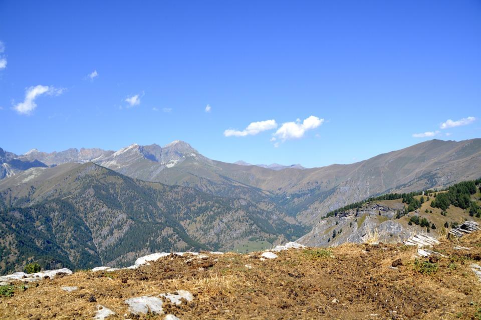 Mountain Panorama, View, Alpine, Mountain Landscape