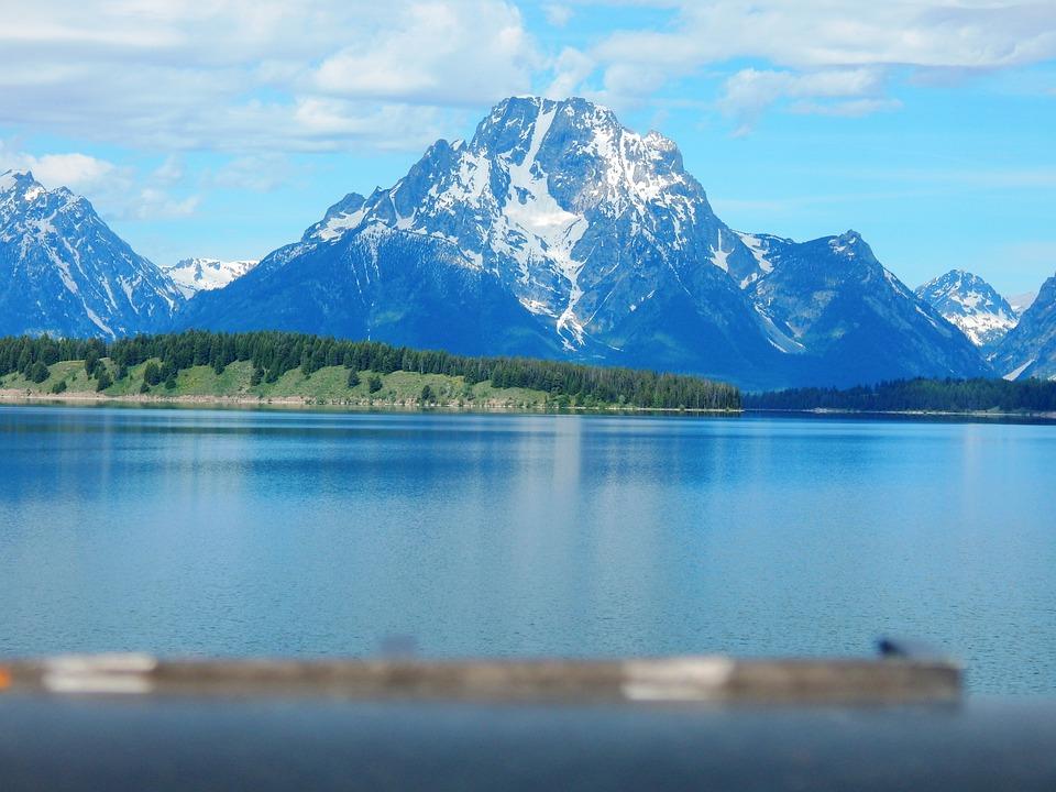 Mountains, Wyoming, Outdoors, Mountain, Landscape