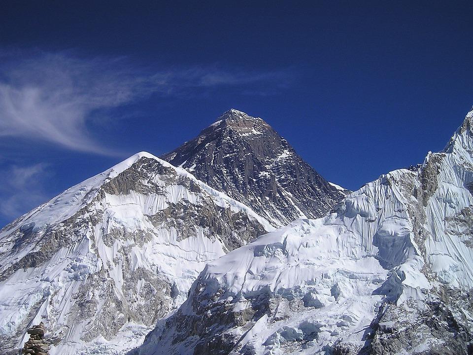 Mount Everest, Himalayas, Nepal, Mountain, Everest