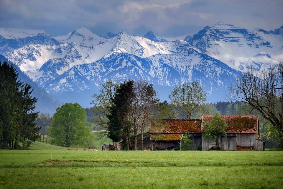 Alpine, Bavaria, Mountain, Mountains, Nature, Landscape