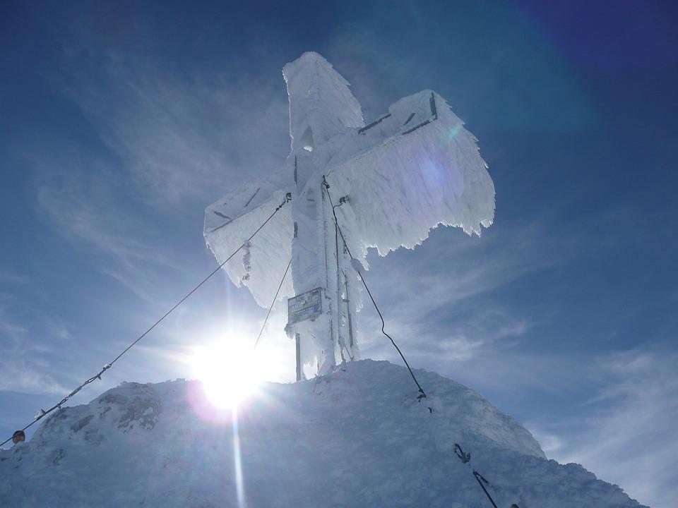 Summit Cross, Summit, Cross, Mountain, Mountains