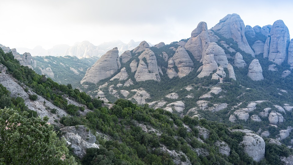 Natural, Mountain, Views From The Top, Landscape