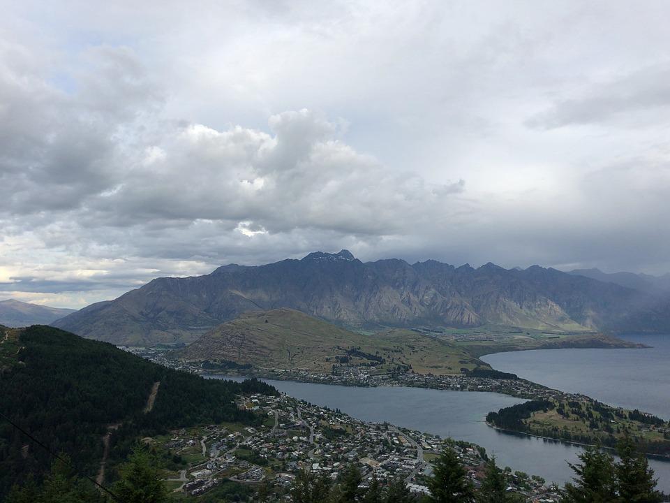 Overseas Travel, New Zealand, Nature, Mountain
