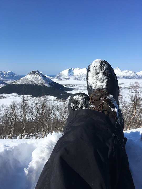 Winter, Snow, Mountain, Northern Norway, Arctic, Tour