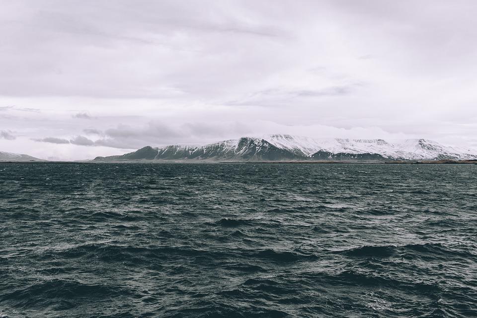 Clouds, Mountain, Nature, Ocean, Sea, Seascape, Sky