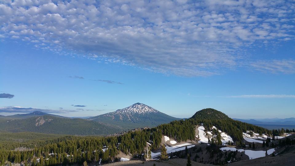 Mountain, Oregon, Three Sisters