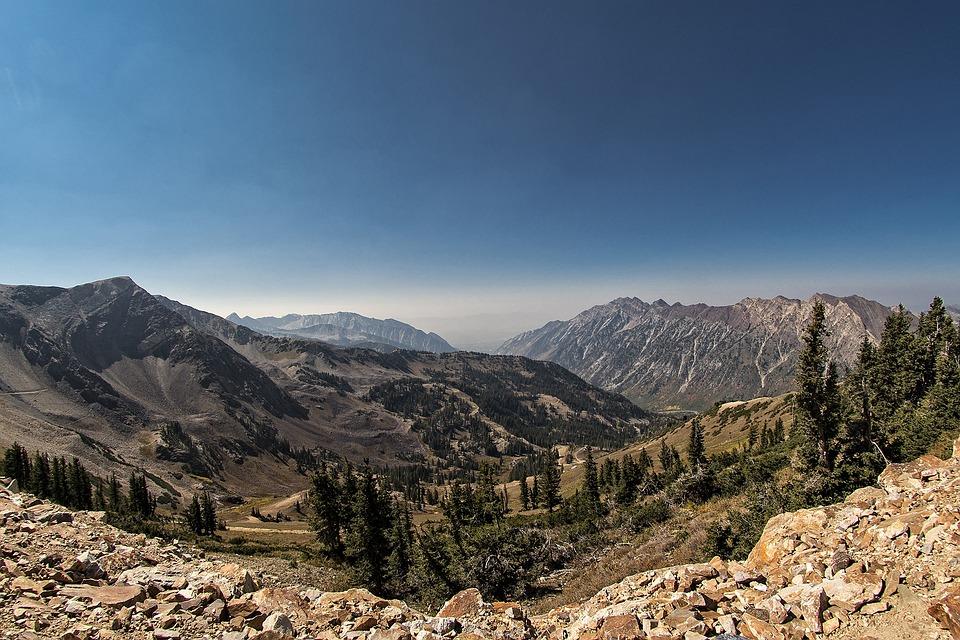 Utah, Mountain, Scenery, Outdoor, America, Scenic