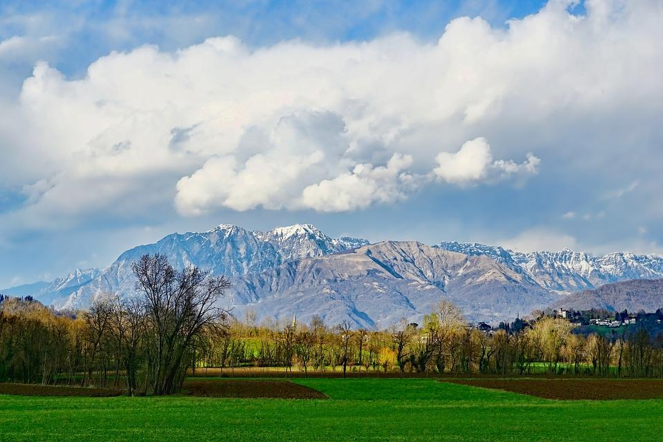 Panorama, Nature, Mountain, Landscape, Tree, Cloud