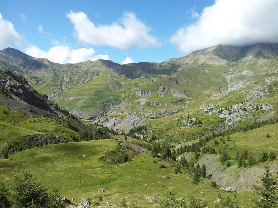 Panorama, Mountain, Trail, Alps, Hiking, Mountain Path