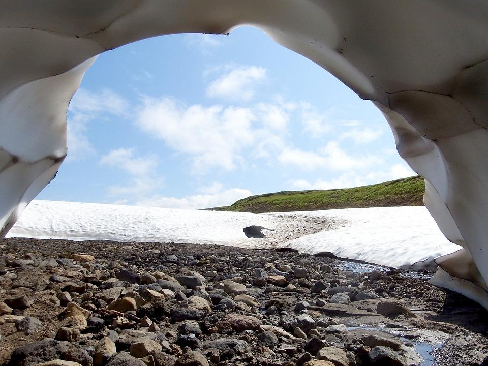 Summer, Sneznik, Hole, Snow Cave, Mountain Plateau