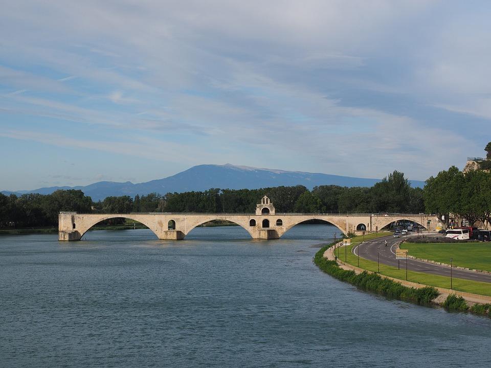 Pont Saint Bénézet, Pont D'avignon, Ventoux, Mountain