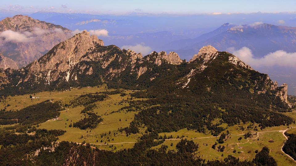 Mountain, Prato, Green, Campogrosso, A Croissant, Top